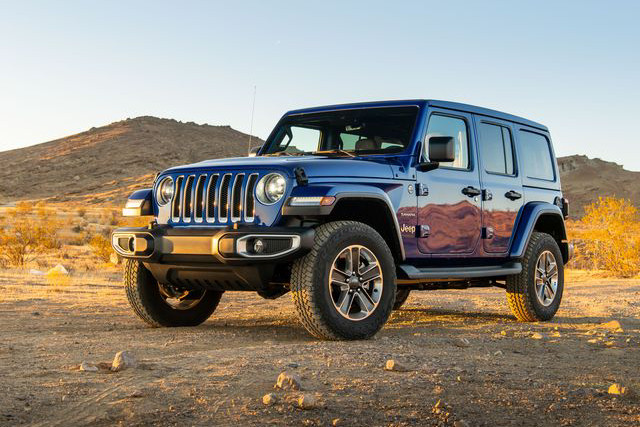 2020 Jeep Wrangler - The Rock-Crawler