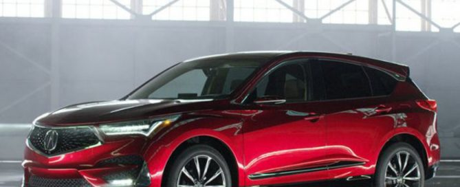 2021 Acura MDX Hybrid Changes