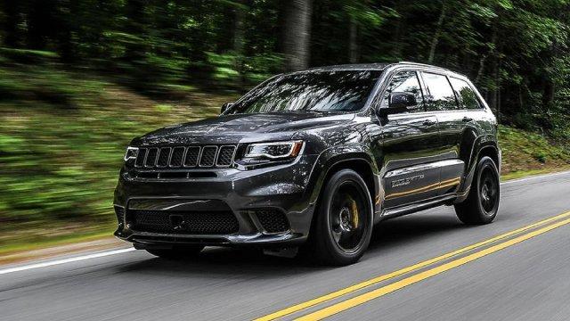2021 Jeep Grand Cherokee Trackhawk