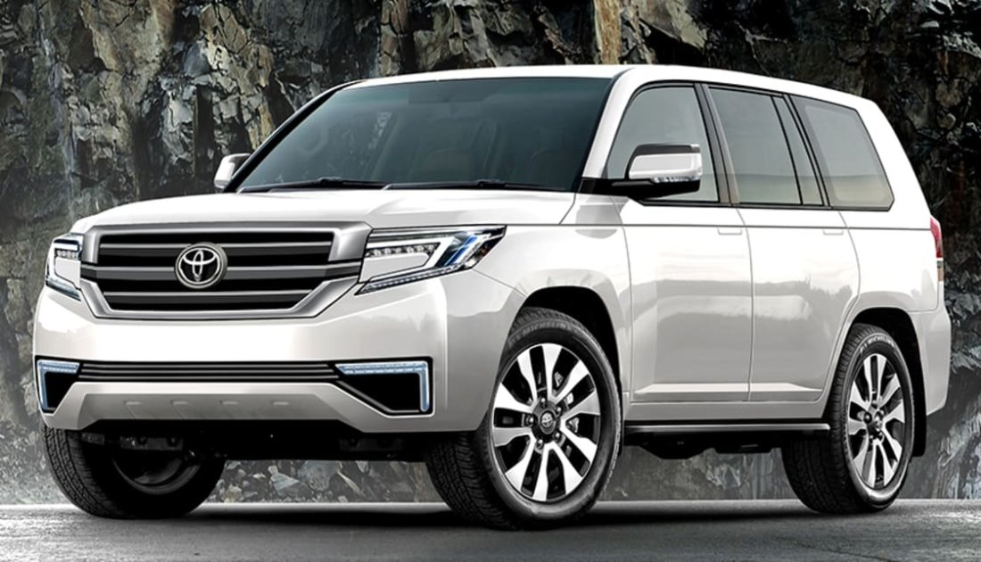2022 Toyota Land Cruiser 300 Series New Hybrid Generation
