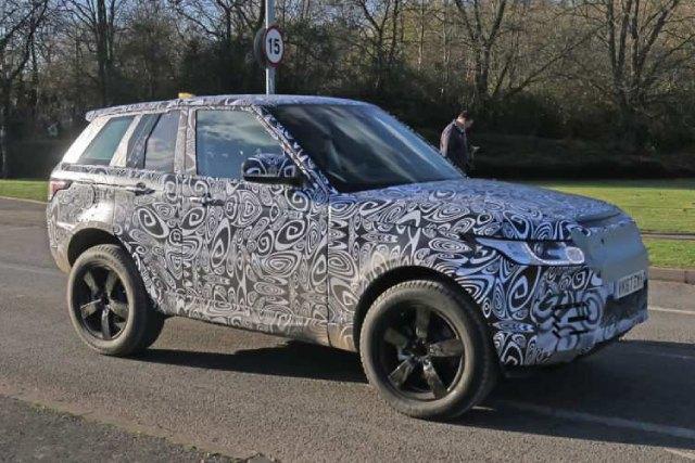2020 Land Rover Road Rover Platform