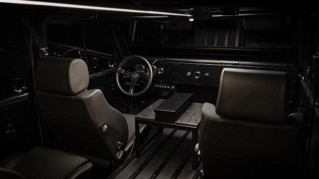2021 Bollinger B1 Interior
