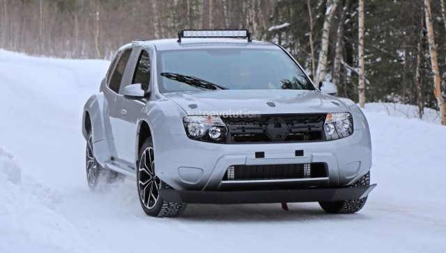 2021 Dacia Duster EV Spy Shots