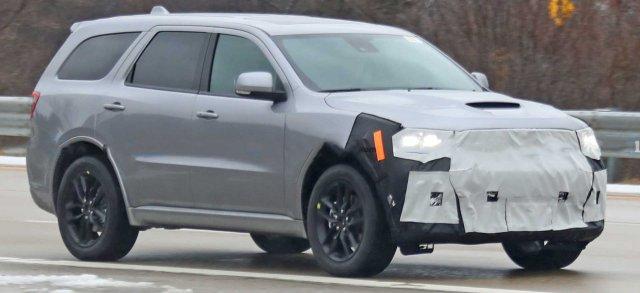2021 Dodge Durango Exterior Updates