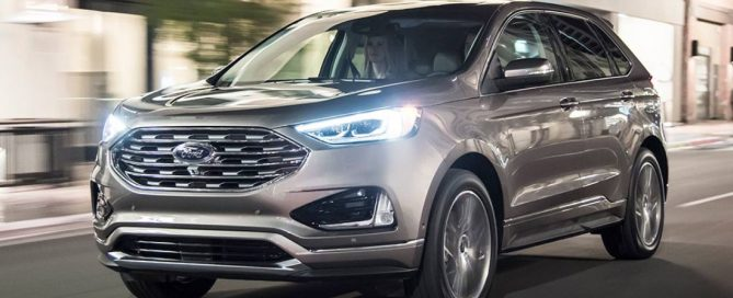 2021 Ford Edge Changes