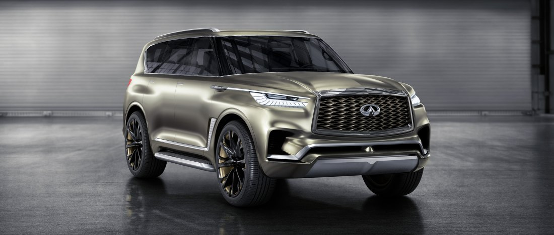 2021 Infiniti QX80 Changes