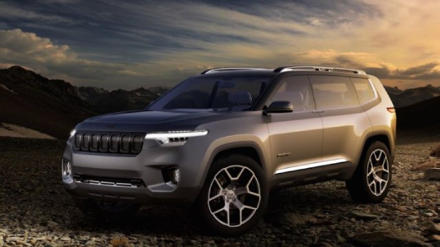 2021 Jeep Wagoneer Concept