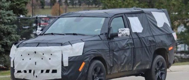 2021 Jeep Wagoneer Spy Shots, Release Date and Price