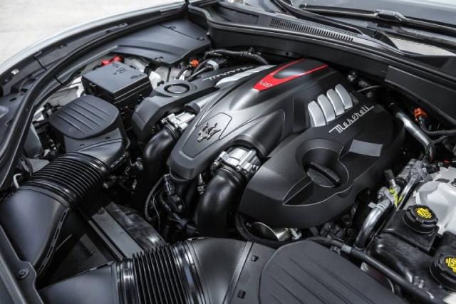 2021 Maserati Levante Engine