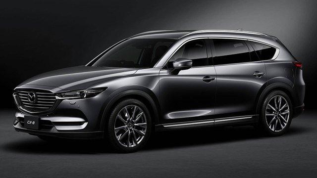 2021 Mazda CX-8 Price, and Competition