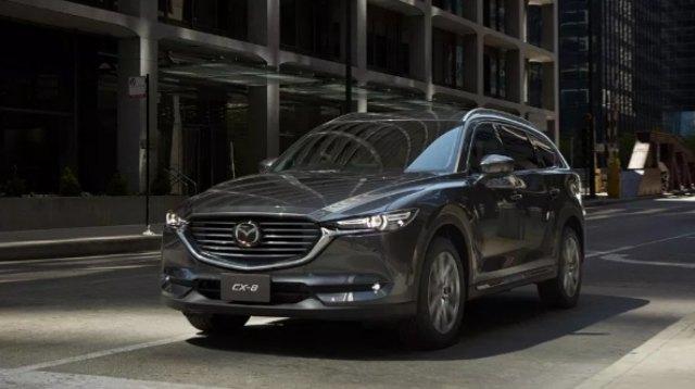 2021 Mazda CX-8 Trims, and Equipment