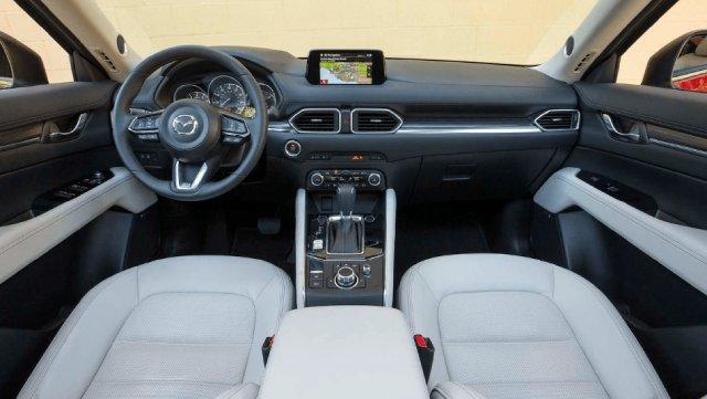 2021 Mazda CX-5 Interior Updates