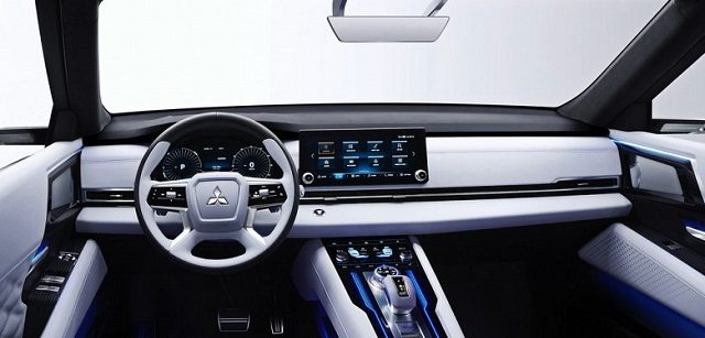 2021 Mitsubishi Outlander Interior Render