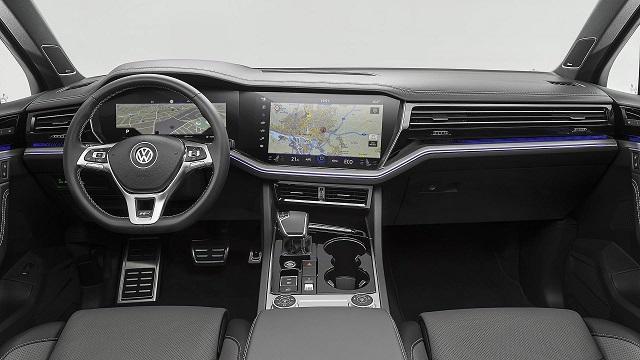 2021 VW Touareg R Plug-In Hybrid Interior