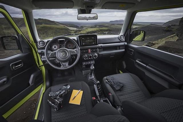 2021 Suzuki Jimny Interior