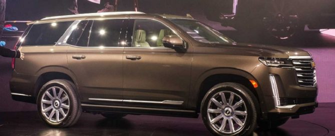 2021 Cadillac Escalade featured