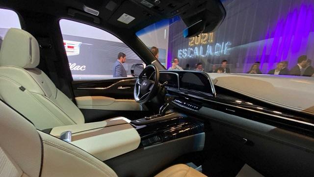 2021 Cadillac Escalade interoir