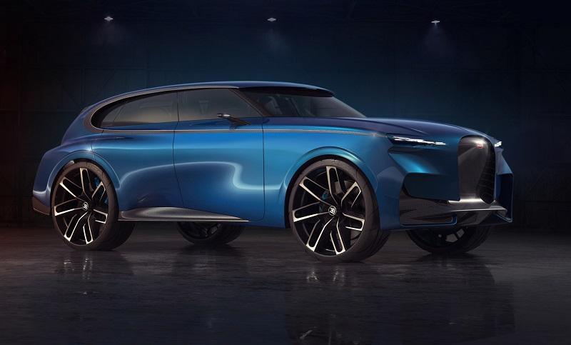 2022 Bugatti SUV Rende