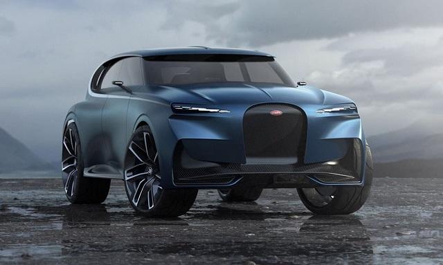 2022 Bugatti SUV Rendering