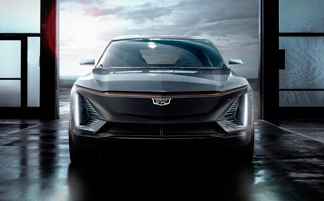 2022 Cadillac Lyriq front