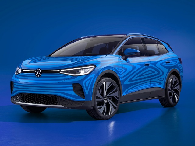 2022 VW ID.4 front
