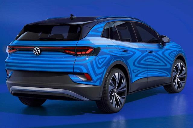 2022 VW ID.4 rear