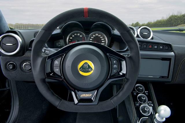 Lotus SUV Evora Interior