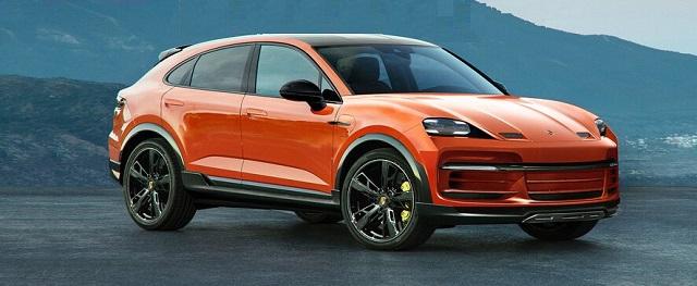 2023 Porsche Macan EV Rendering