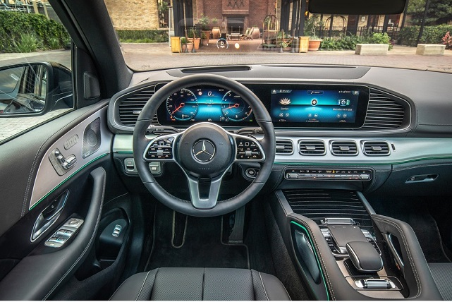 2021 Mercedes-Benz GLE Interior