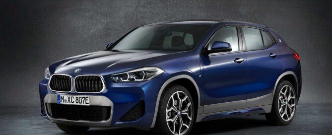 2021 BMW X2 Front