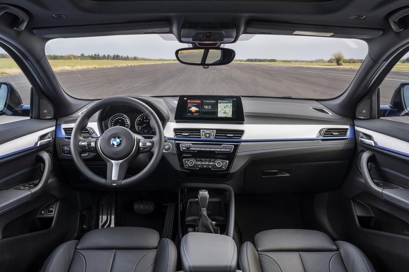 2021 BMW X2 Interior