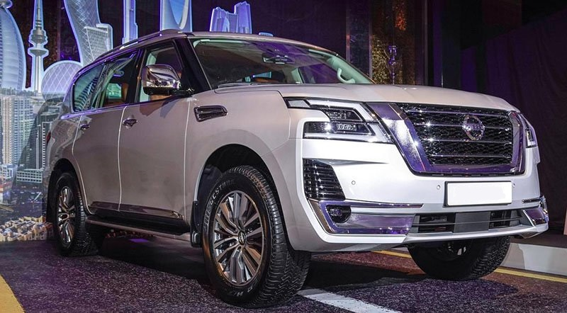 2021 Nissan Armada previewed by Patrol