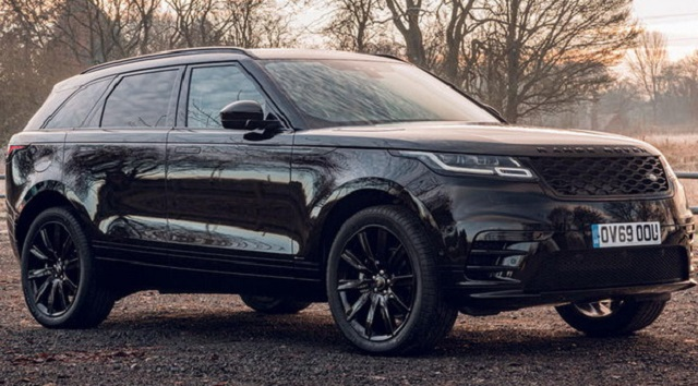 2021 Range Rover Dynamic Black