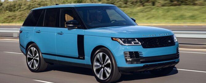 2021 Range Rover featured