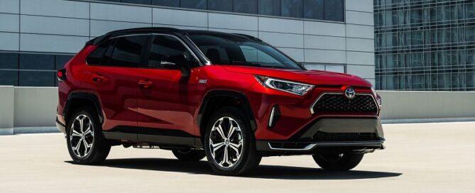 2021 Toyota RAV4 Prime featured
