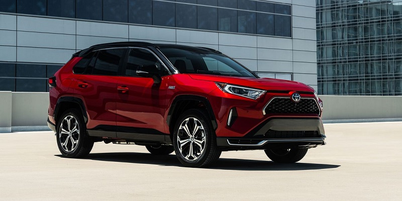 2021 Toyota RAV4 Prime featured