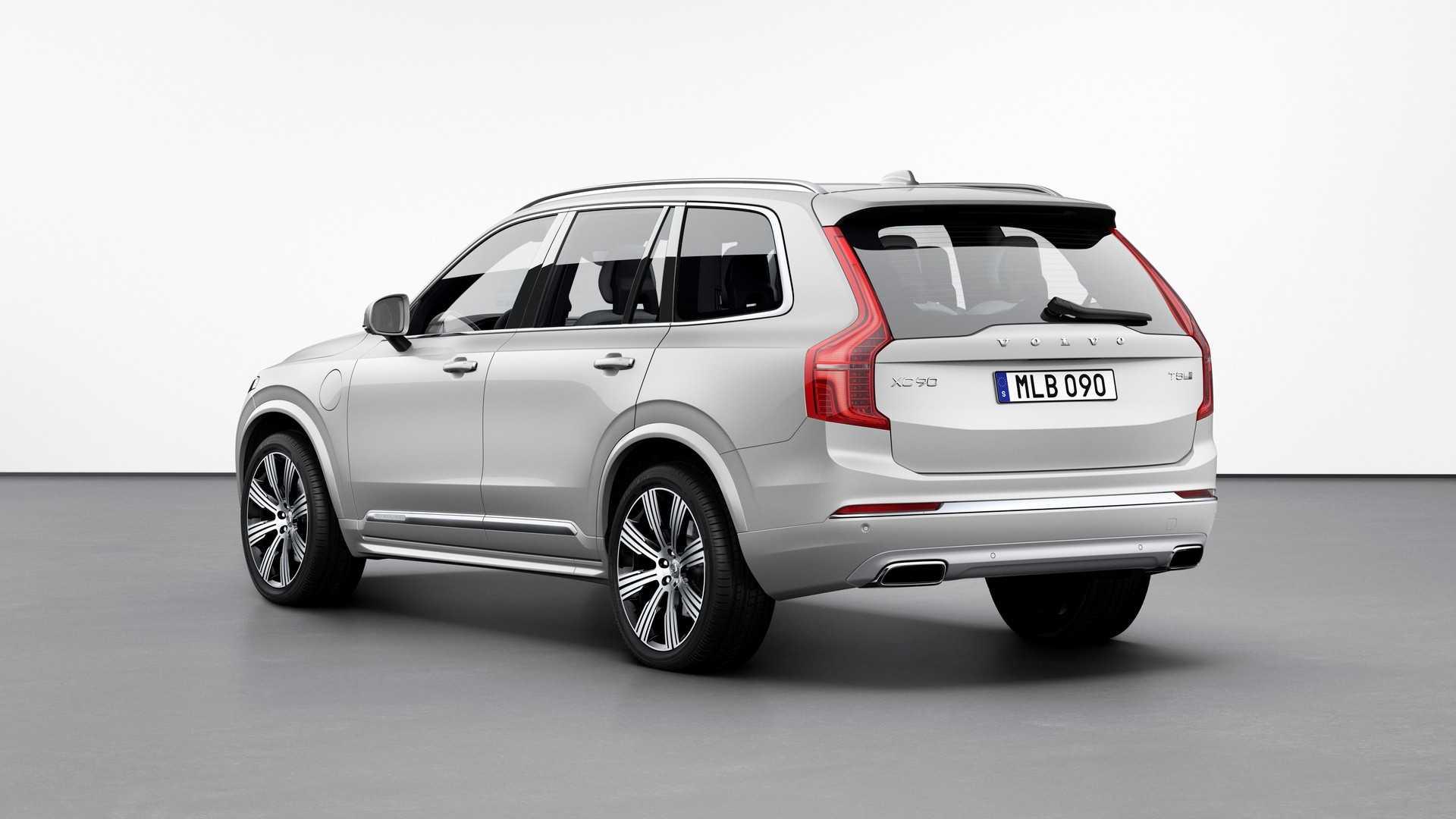 2021 Volvo XC90 rear view