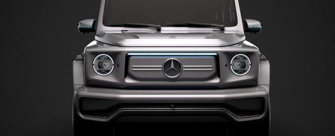2022 Mercedes-Benz EQG Render front