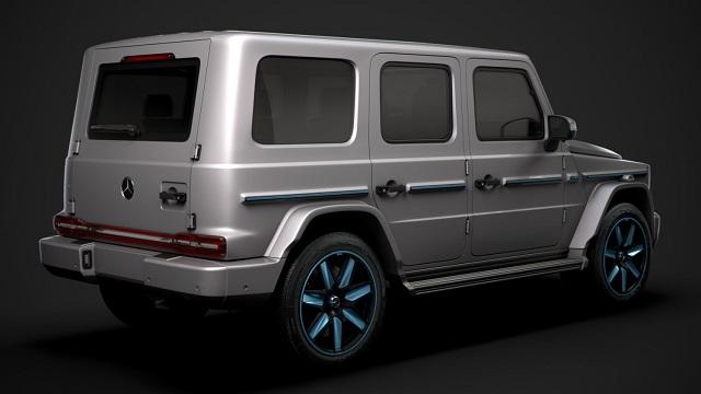 2022 Mercedes-Benz EQG Render rear