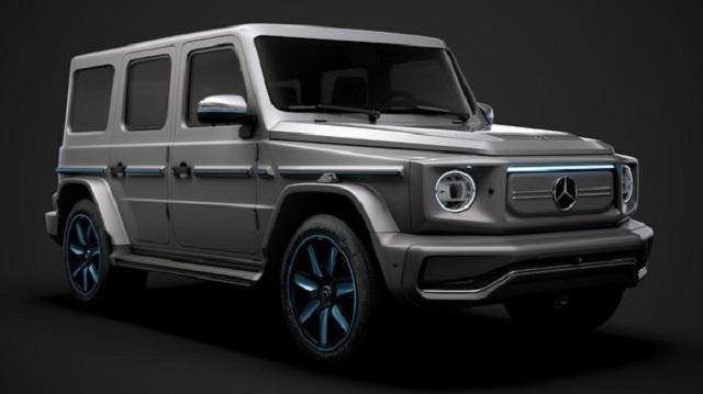 2022 Mercedes-Benz EQG Render