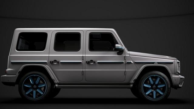 2022 Mercedes-Benz EQG render side