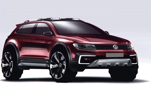 2023 VW Rugged Electric SUV Render