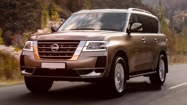 2024 Nissan Armada render
