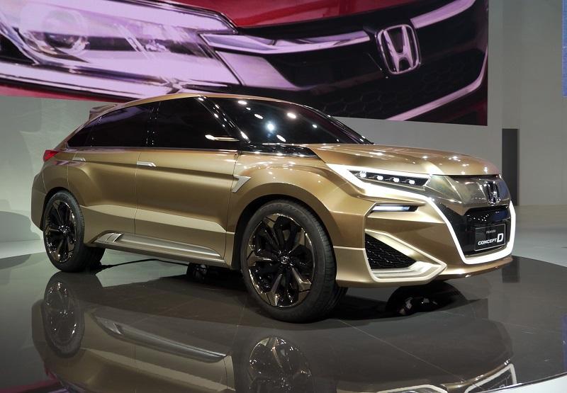 2021 Honda Crosstour Render