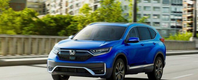 2021 Honda CR-V featured