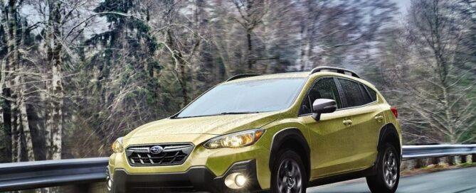 2021 Subaru Crosstrek featured