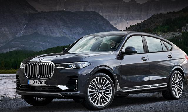 2021 BMW X8 render