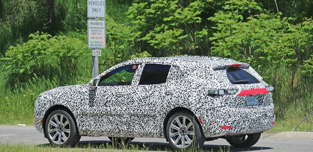 2021 Buick Enspire spy shot rear