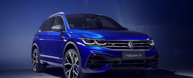 2022 VW Tiguan R-Line