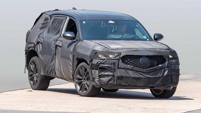 2022 Acura MDX Type S spy shot